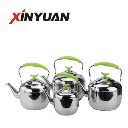 filter kettle of stainless steel with handle with high quality