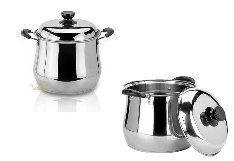stainless cooking pot factory kitchen stainless steel set manufacturer