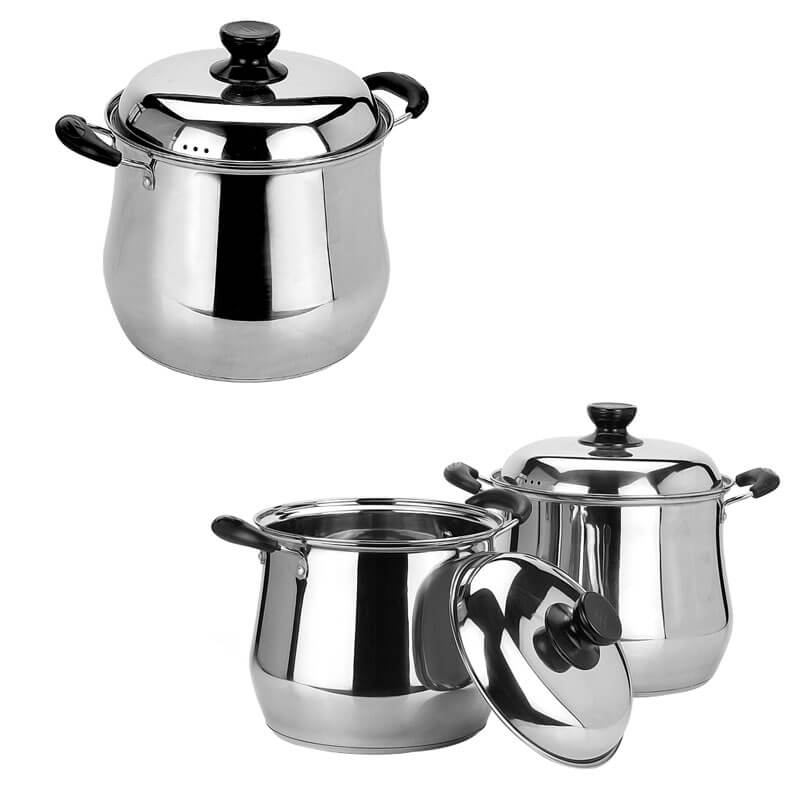 stainless cooking pot factory kitchen stainless steel set supplier