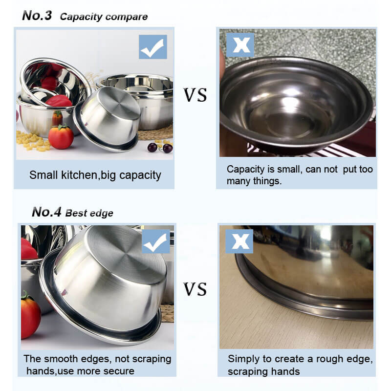stainless steel bowl OEM
