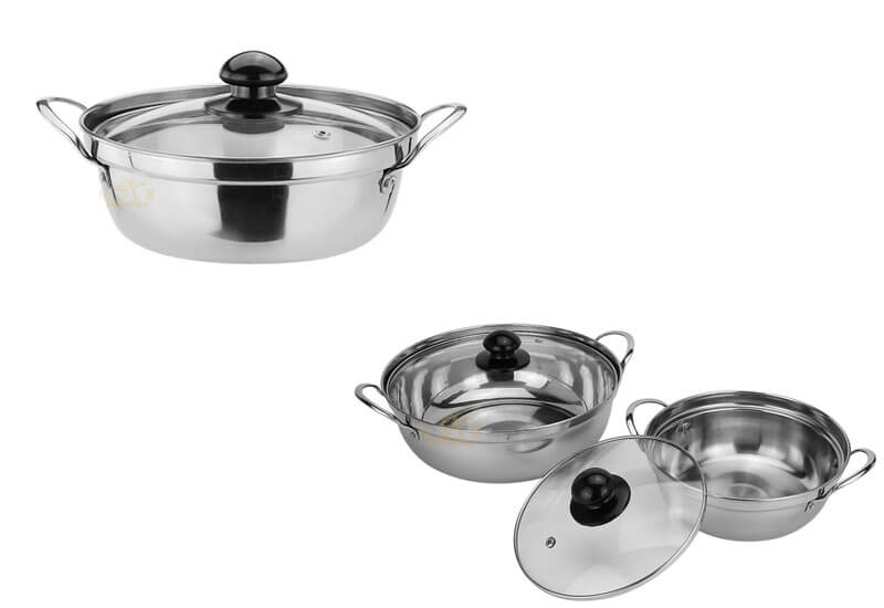 steel pan factory stainless cookware manufacturer
