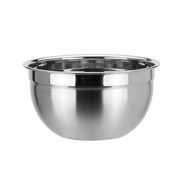 About the characteristics of the mixing-bowls