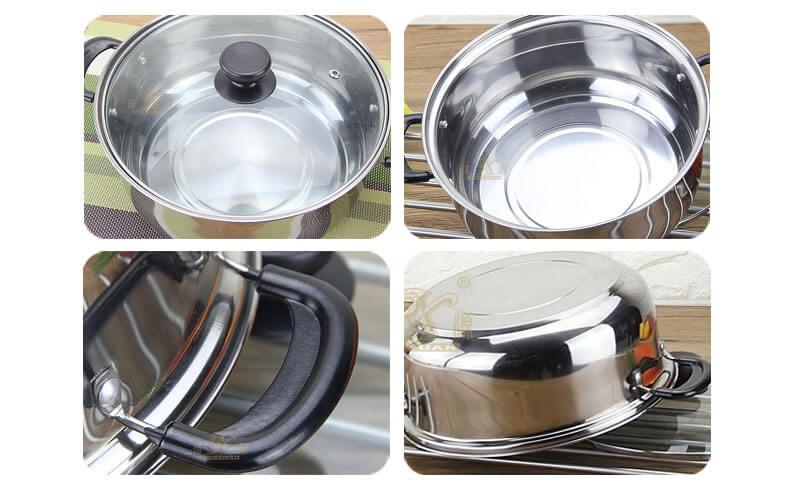 best stock pot factory non stick cooking pot wholesale