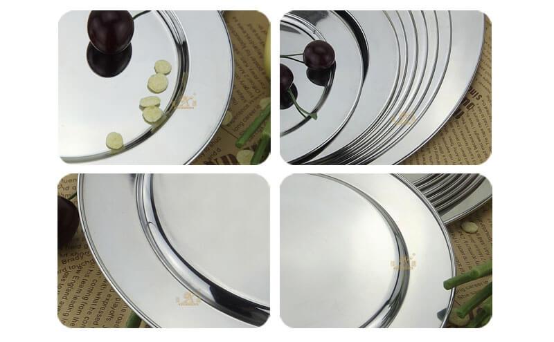 wedding tray OEM dinner plates wholesale