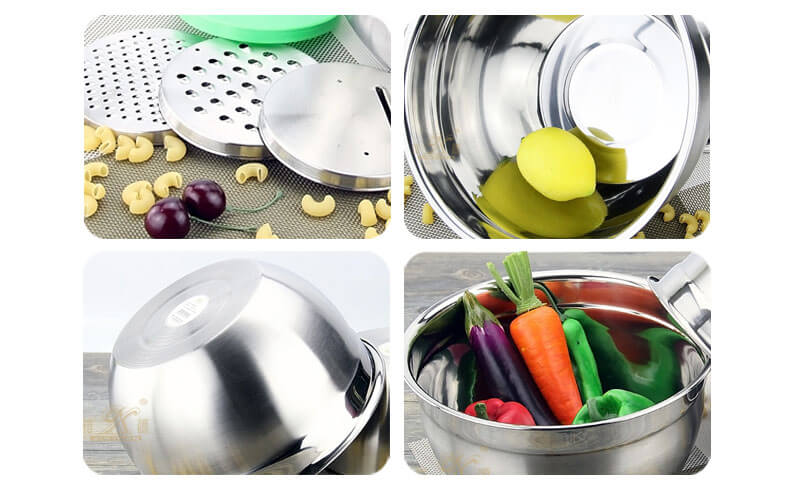 cake mixing bowl ODM metal mixing bowls