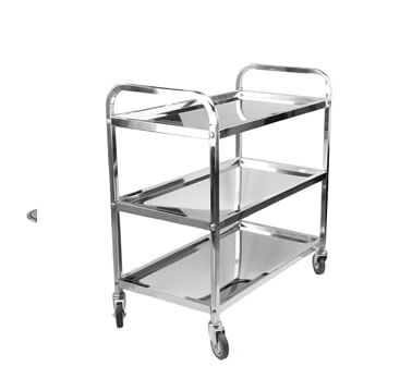 Do you know the advantage of stainless steel cart ?