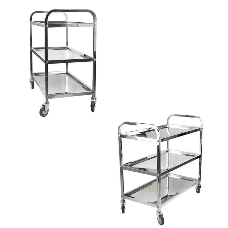 stainless steel cart exporter utility cart supplier