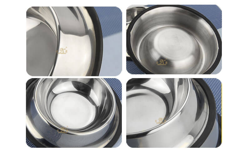 stainless steel   bowl ODM dog food   wholesale