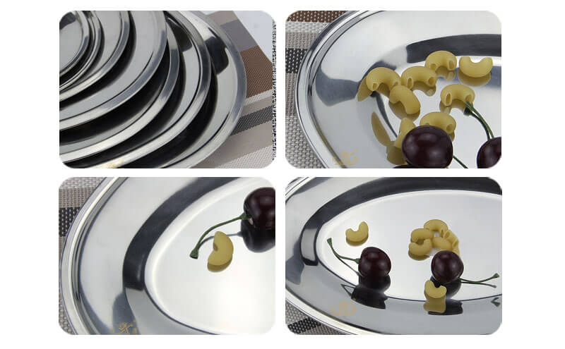 Oval food server OEM party serving trays wholesale