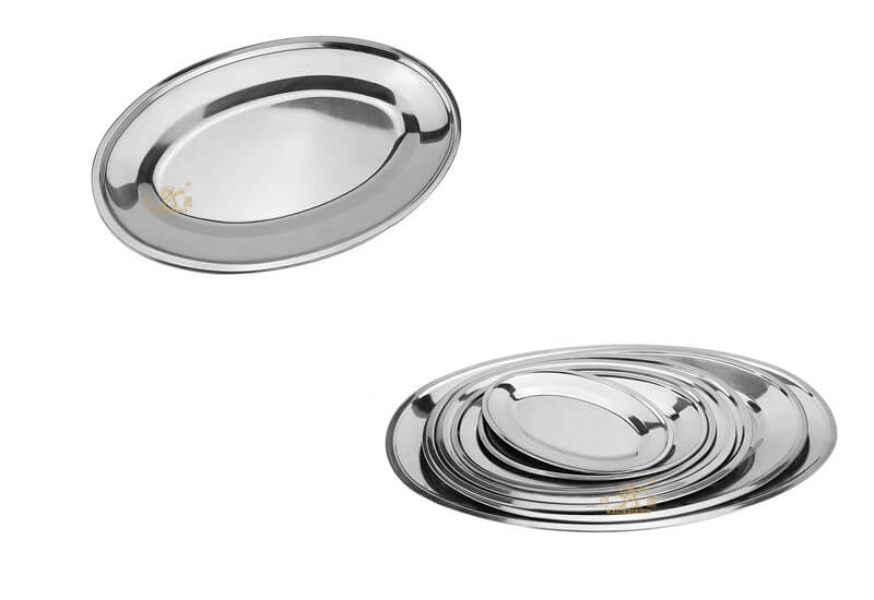Oval food server OEM party serving trays manufacturer