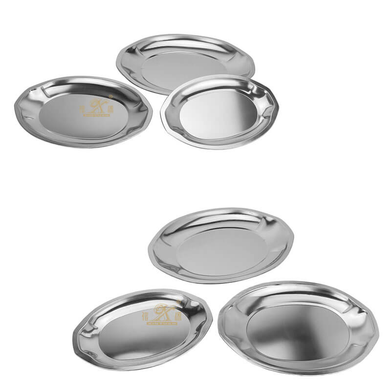 oval plate OEM fish plate supplier