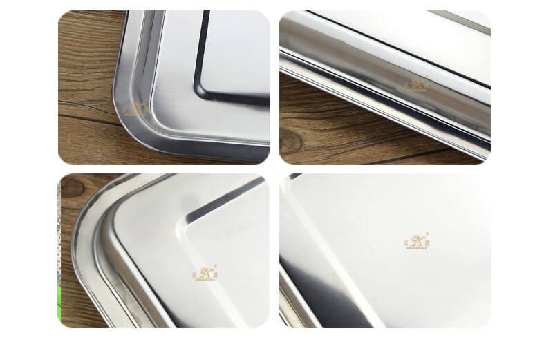 sheet metal manufacturer dinner plates square wholesale
