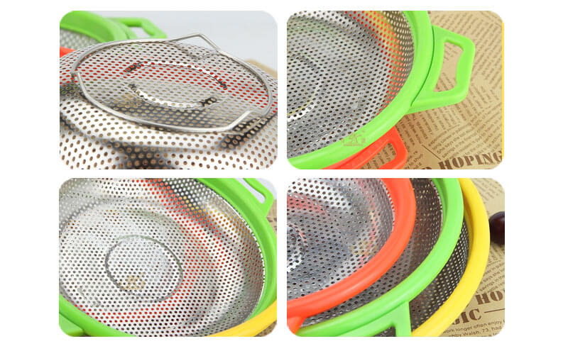 food serving trays OEM stainless steel colander wholesale