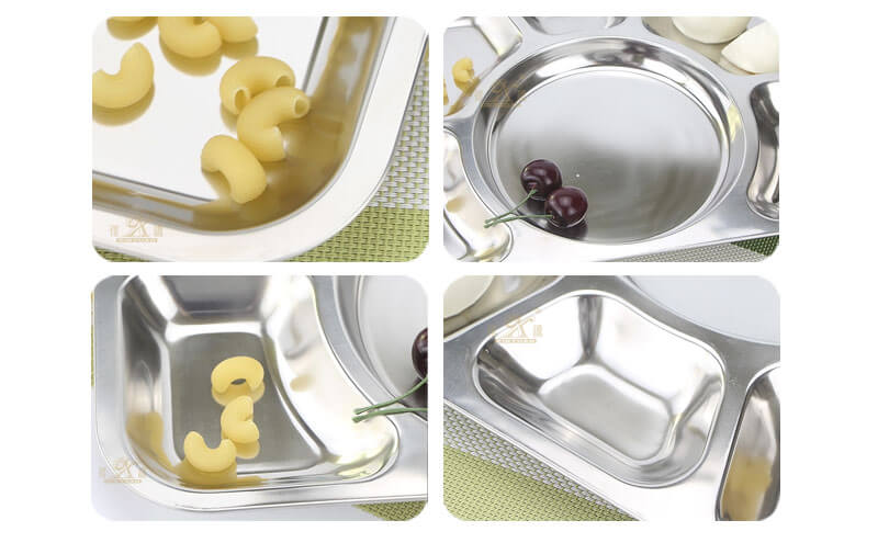 plate stainless steel ODM serving tray set wholesale