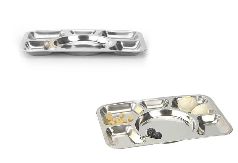 plate stainless steel ODM serving tray set maufacturer