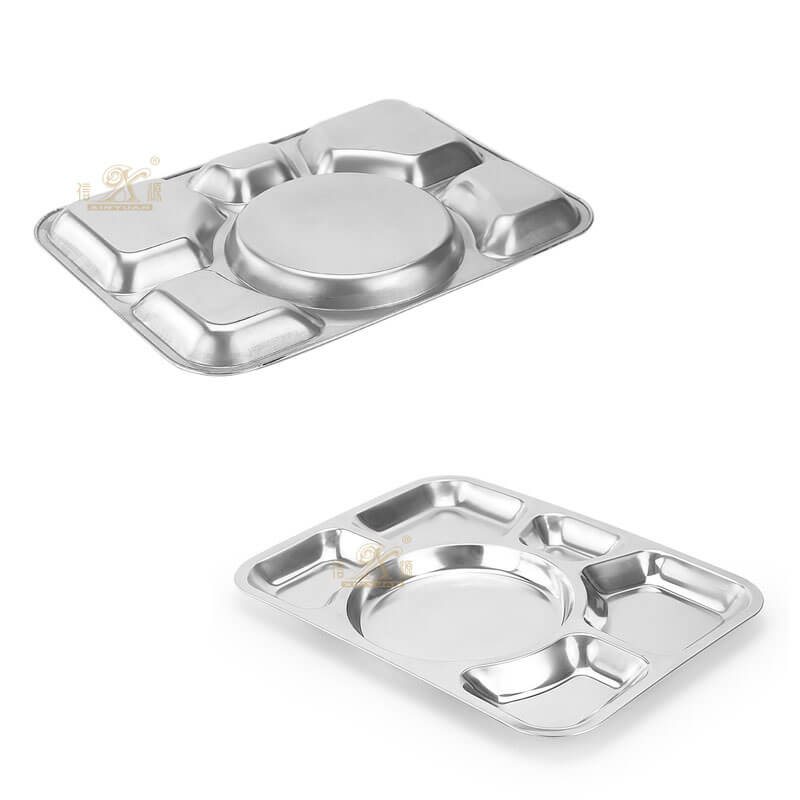 plate stainless steel ODM serving tray set supplier