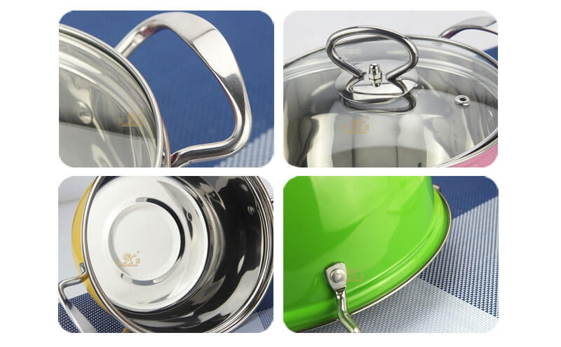 green pots and pans factory good pots and pans set wholesale
