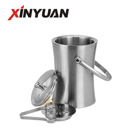 ice buckets for sale with stainless steel of high quality custom logo