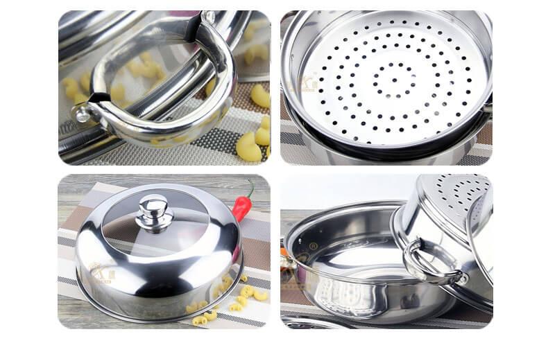 kitchen pots factory steel cookware wholesale