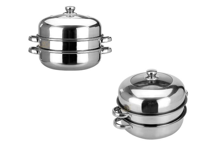 kitchen pots factory steel cookware manufacturer