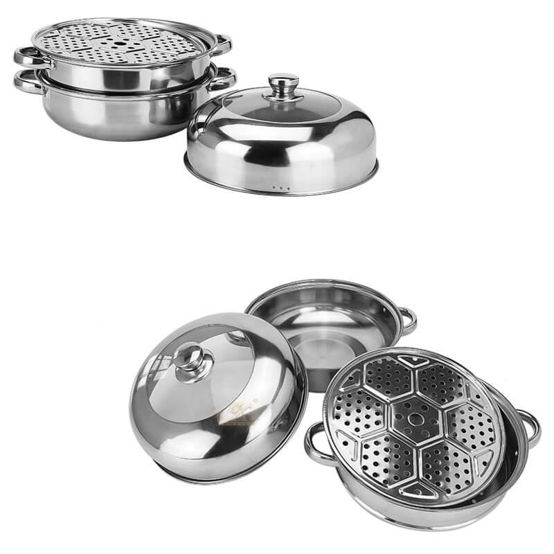 kitchen pots factory steel cookware supplier
