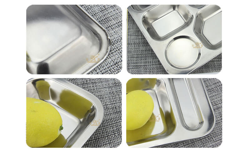 large metal tray OEM food tray wholesale