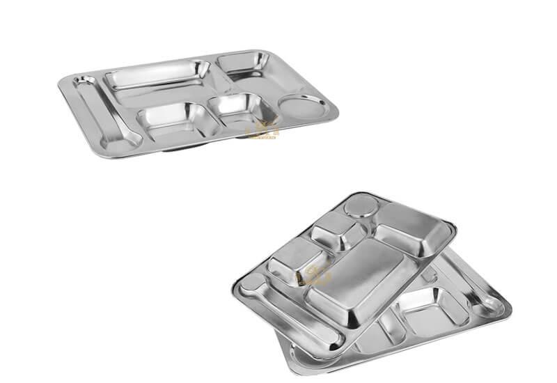 large metal tray OEM food tray manufacturer