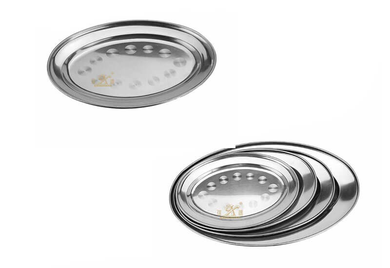 oval tray wholesale stainless steel serving trays manufacturer