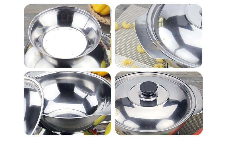 pot set factory stainless steel pot set wholesale