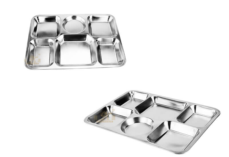 white serving tray OEM stainless steel plate manufacturer