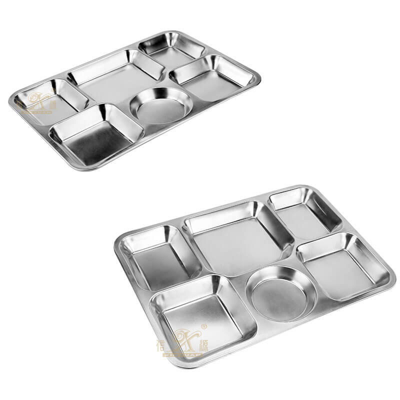 white serving tray OEM stainless steel plate supplier