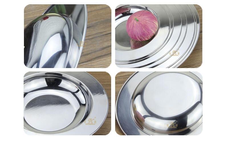 stainless dish OEM steel tread plate wholesale