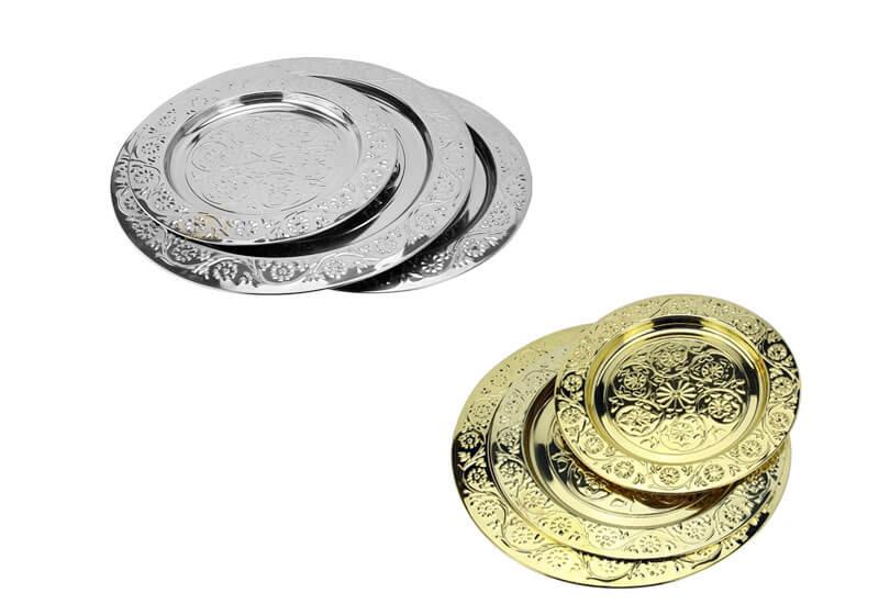 golden tray OEM Steel Plates manufacturer