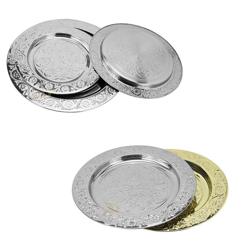 golden tray OEM Plates supplier