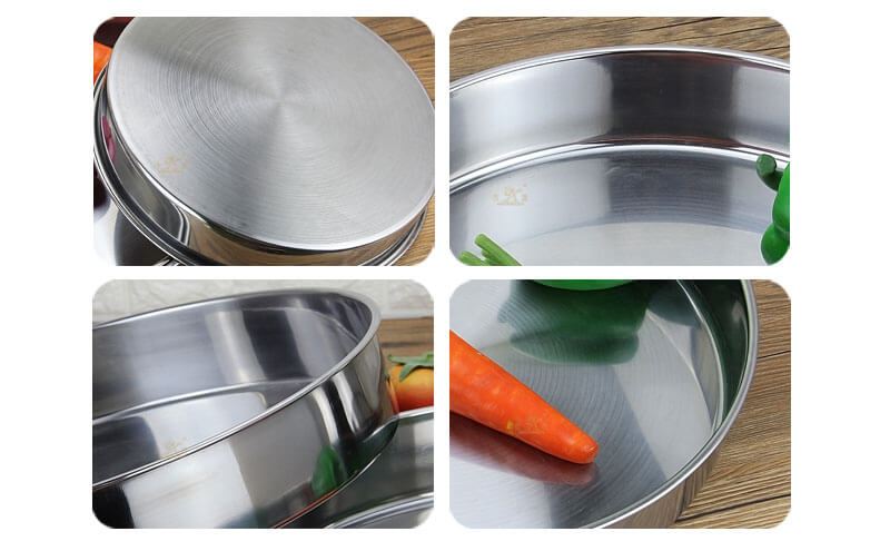 metal plates OEM round serving tray wholesale
