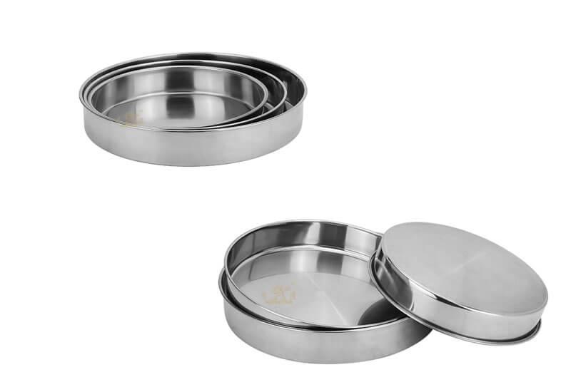 metal plates OEM round serving tray manufacturer