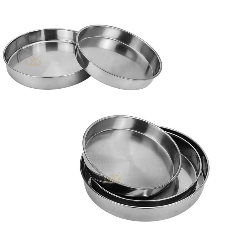 metal plates OEM round serving tray supplier