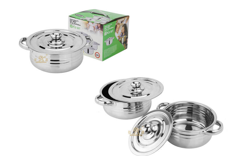 set pot factory kitchen cookware manufacturer