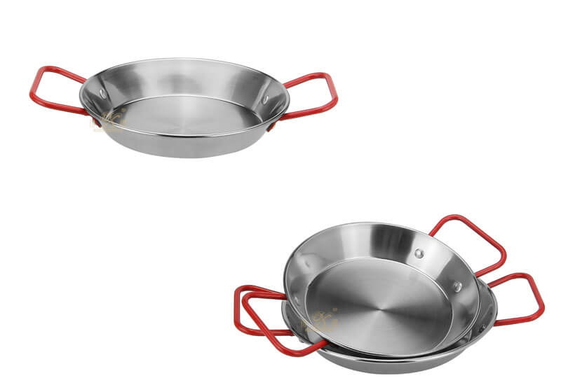 stainless frying pan factory stainless-steel cookwarewholesale