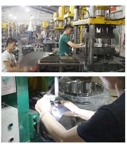 stainless steel kitchenware factory