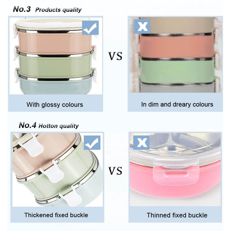 stainless steel lunch box storage jars, metal food containers price