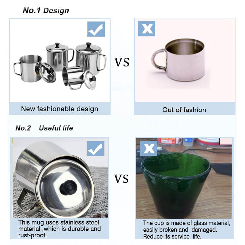 stainless steel mug supplier