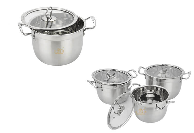 stainless steel pans factory kitchen pots and pans manufacturer