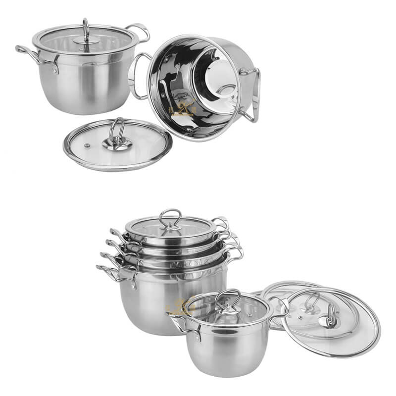 stainless steel pans factory kitchen pots and pans supplier