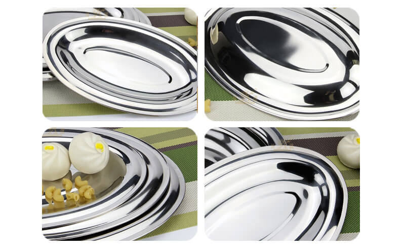 stainless steel serving trays wholesale
