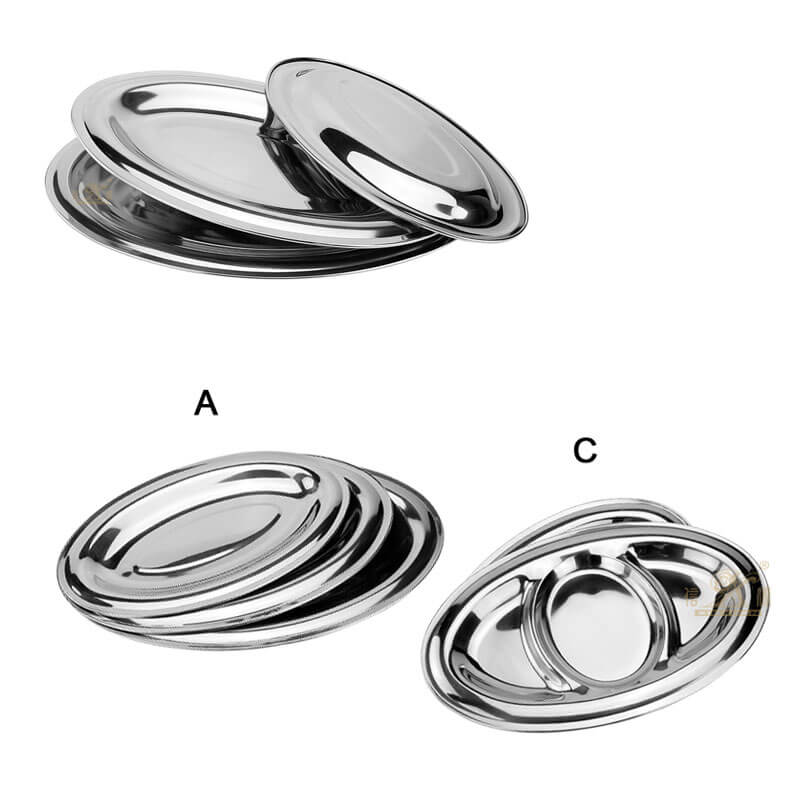 stainless steel serving trays supplier