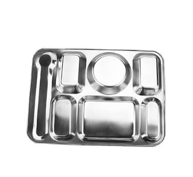 food tray OEM rectangular divided tray factory