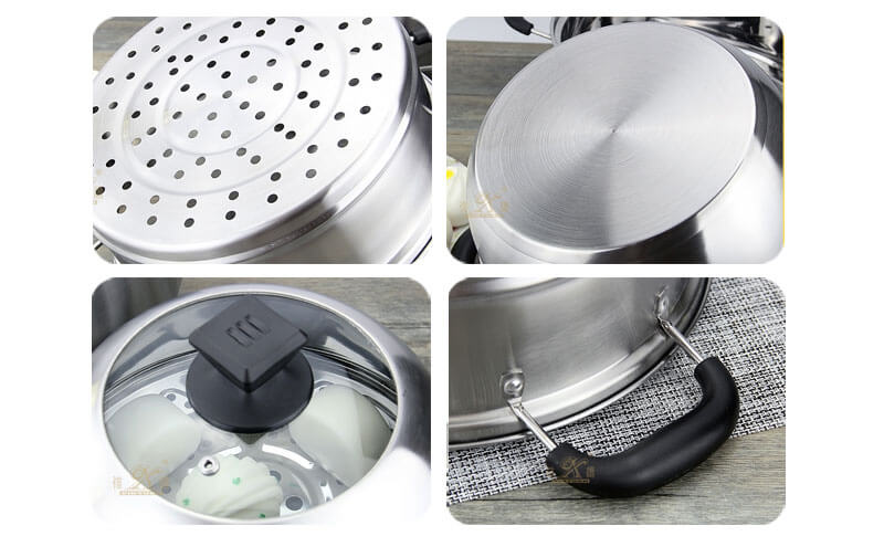steamer pot factory pan wholesale