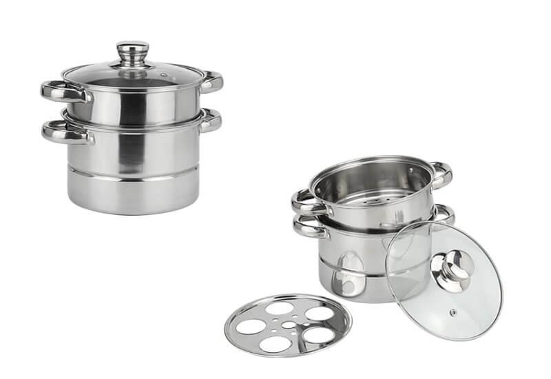 steel cooker factory kitchen pot set manufacturer