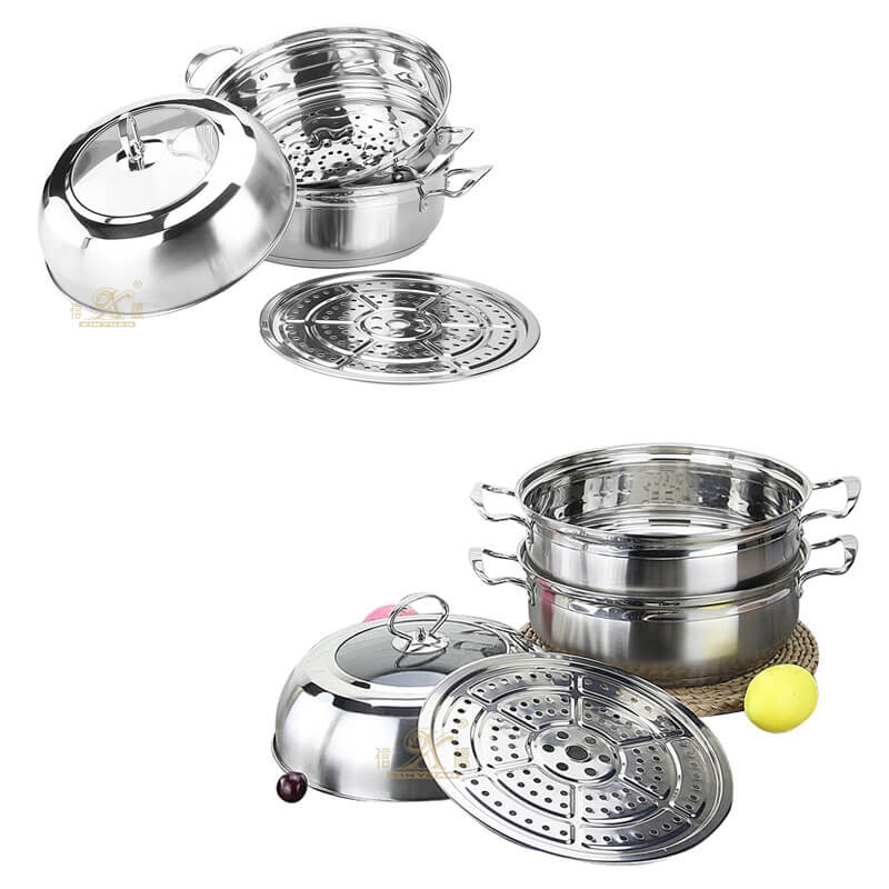surgical steel cookware factory stainless saucepan supplier